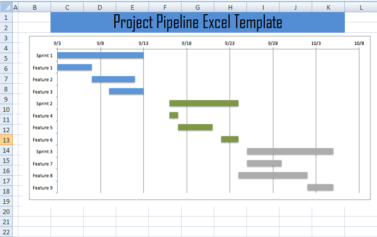 project pipeline tracker template xls free excel
