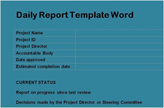 Get Construction Daily Report Template Format Free Excel Spreadsheets And Templates